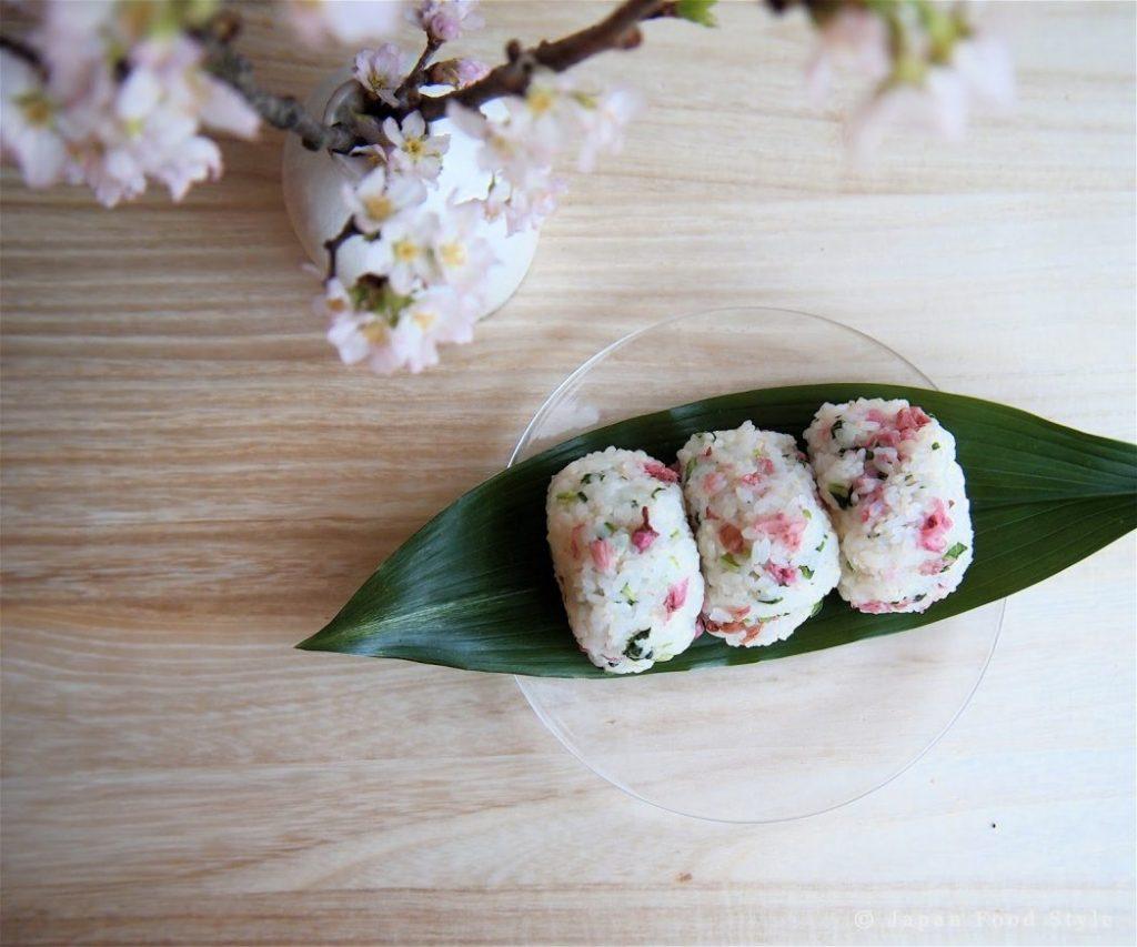 Sakura Onigiri (Cherry Blossom Rice Balls) Recipe - Japan