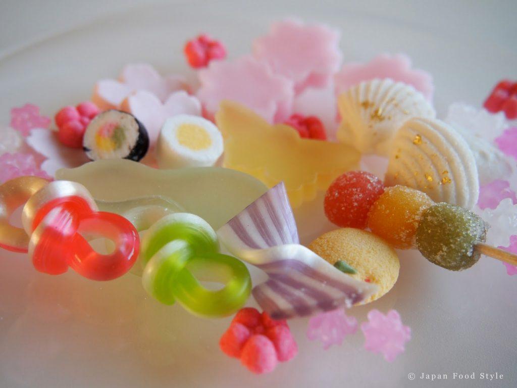 Sweets for hinamatsuri