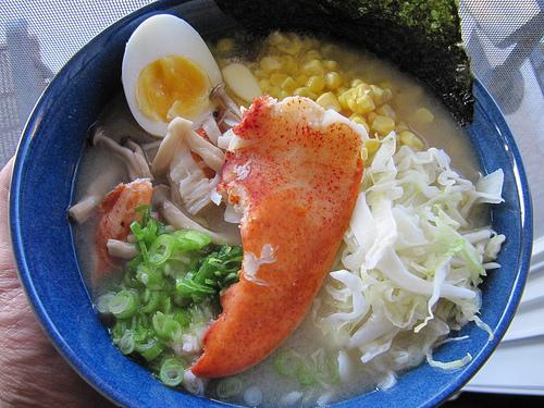 Lobster miso ramen
