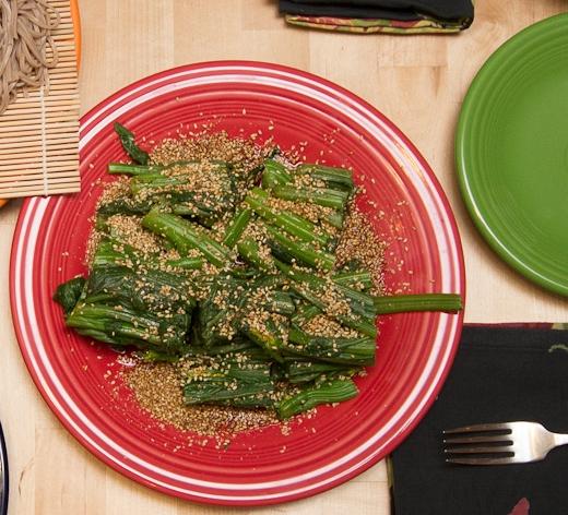 Spinach Oshitashi Salad Recipe