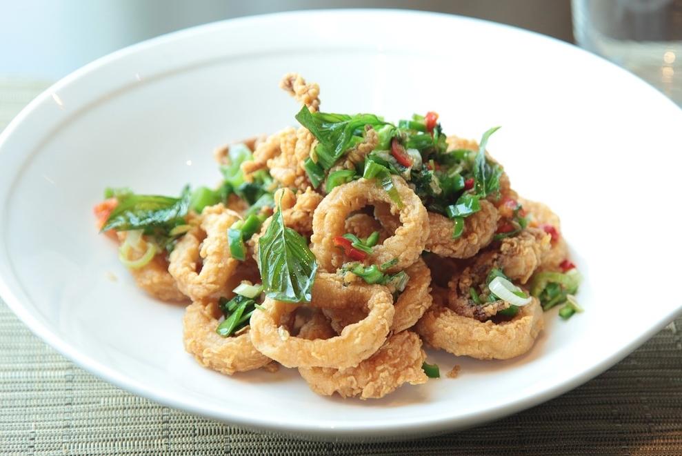 Oyster Mushroom Calamari Recipe